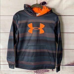 Under Armour • boys logo hoodie